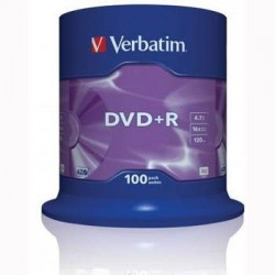 Verbatim DVD+R vierge (100 pièces)