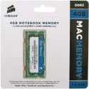 Mémoire vive  So-Dimm DDR3 Corsair 4Go 1066 MHz (Apple)