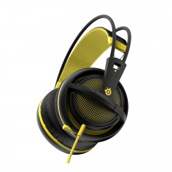 SteelSeries Siberia 200 Casque Gaming (Proton Yellow - Jaune)