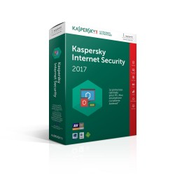 Kaspersky Internet Security 2017 1an 1PC