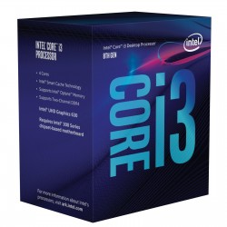 Processeur Intel Core i3 8100 Box Socket 1151 H4
