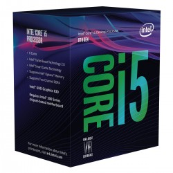 Processeur Intel Core i5 8400 Box Socket 1151 H4