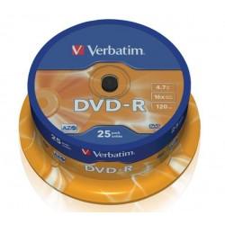 Verbatim DVD-R vierge (25 pièces)