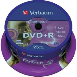 Verbatim DVD+R vierge (25 pièces)