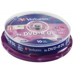 Verbatim DVD+R DL vierge (10 pièces)